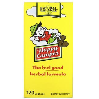 Natural Balance, Happy Camper, 120 Vegetarian Capsules