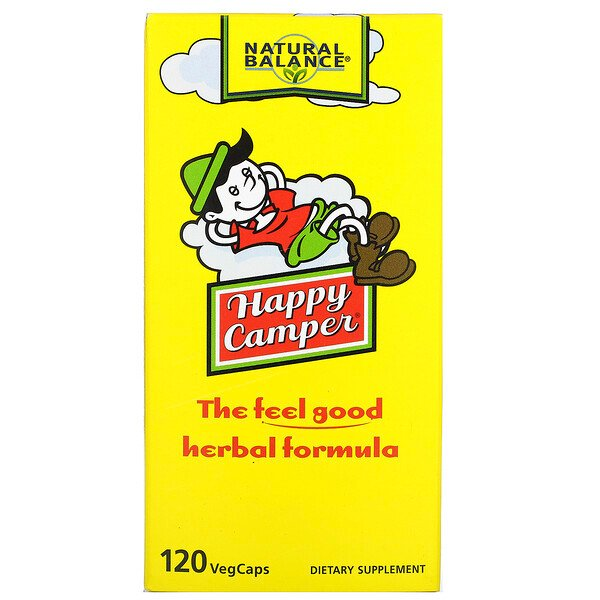 Happy Camper, 120 Vegetarian Capsules