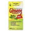 Natural Balance, Ginseng PowerMax 4X, 100 Veg Caps