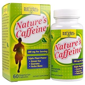 Натуре Баланс, Nature's Caffeine, 60 Veggie Caps отзывы