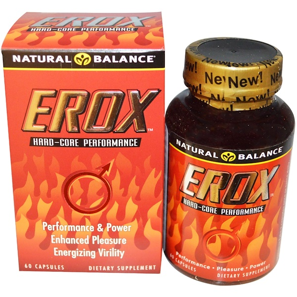 Natural Balance, Erox, 60 Capsules (Discontinued Item)