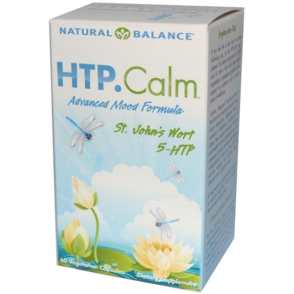 Natural Balance, HTP.Calm, 60 Veggie Caps (Discontinued Item)