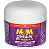 Natural Balance, MSM Cream, 2 oz (56.7 g) (Discontinued Item)