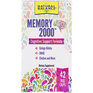 Натуре Баланс, Memory 2000, 42 Veg Caps отзывы покупателей