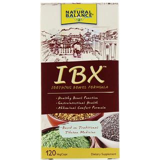 Natural Balance, IBX Soothing Bowel Formula, 120 Veg Caps