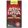 Avena Sativa, Wild Oats, 750 mg , 50 Tablets
