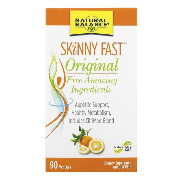 SKiNNY FAST, Original, 90 Vegetarian Capsules
