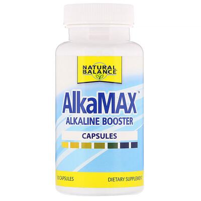 Natural Balance AlkaMax, щелочной усилитель, 30 капсул  - купить со скидкой