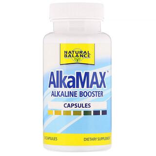 Natural Balance, AlkaMax, щелочной усилитель, 30 капсул