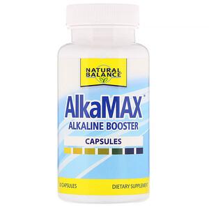 Натуре Баланс, AlkaMax, Alkaline Booster, 30 Capsules отзывы