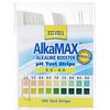AlkaMax, тест-полоски pH со средством повышения щелочности, 100 тест-полосок