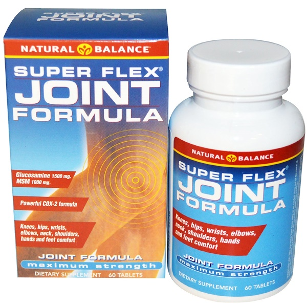 Natural Balance, Super Flex Joint Formula, 60 Tablets (Discontinued Item)