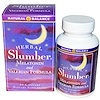Natural Balance, Herbal Slumber, Melatonin and Valerian Formula, 60 Capsules