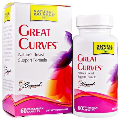 Natural Balance Great Curves, 60 Veggie Caps