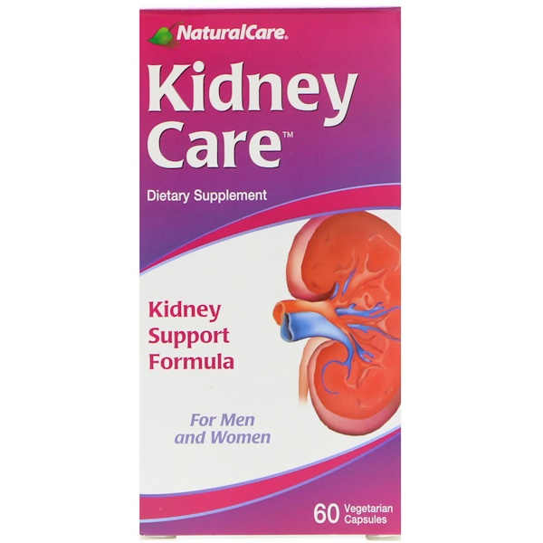 NaturalCare, Kidney Care, 60 Vegetarian Capsules