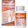 Средство от мигрени, для мужчин и женщин, 60 капсул