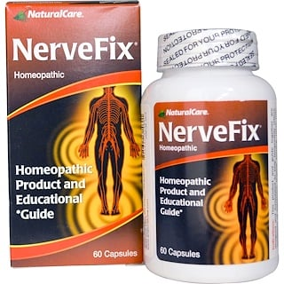 Natural Care, Nerve Fix, 60 Capsules