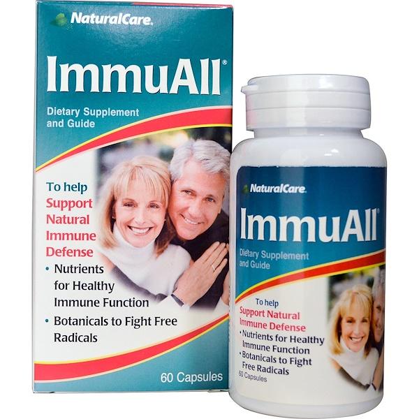 NaturalCare, ImmuAll, 60 Capsules (Discontinued Item)