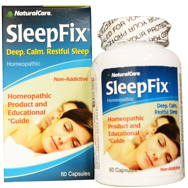 NaturalCare, SleepFix, 60 Capsules