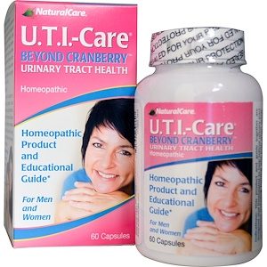 Natural Care, U.T.I.-Care, не только клюква, 60 капсул