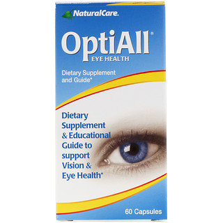 NaturalCare, OptiAll Eye Health, 60 Capsules