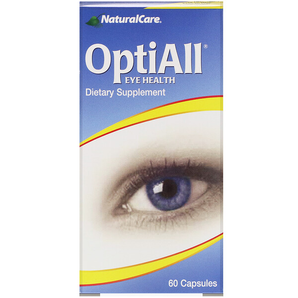 OptiAll Eye Health, 60 Capsules
