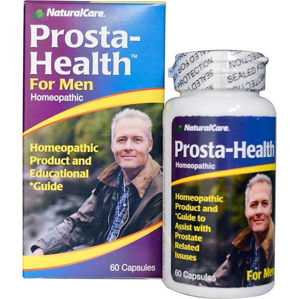 NaturalCare, Prosta-Health, For Men, 60 Capsules