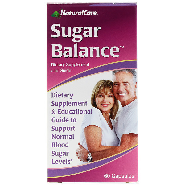 NaturalCare, Equilíbrio de açúcar, 60 cápsulas