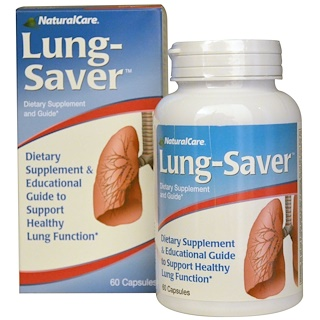Natural Care, Lung-Saver, 60 Capsules