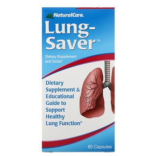 NaturalCare, Lung-Saver, 60 Capsules