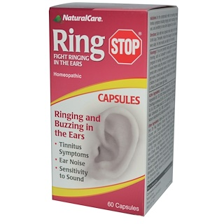 Natural Care, RingStop, 60 Capsules