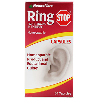 NaturalCare, РингСтоп, 60 капсул