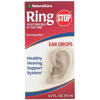 NaturalCare, Ring Stopp, Ohrentropfen, 0,5 fl oz (15 ml)
