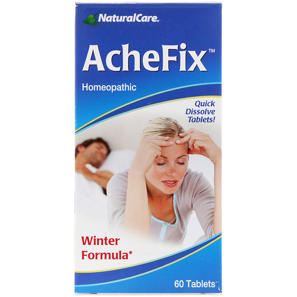 NaturalCare, AcheFix, 60 Tablets
