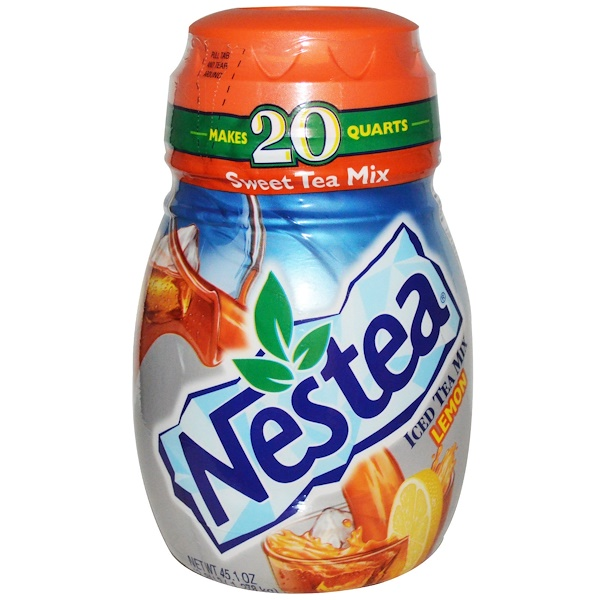 Nestea, Sweet Iced Tea Mix, Lemon, 45.1 oz (1.278 kg) (Discontinued Item)