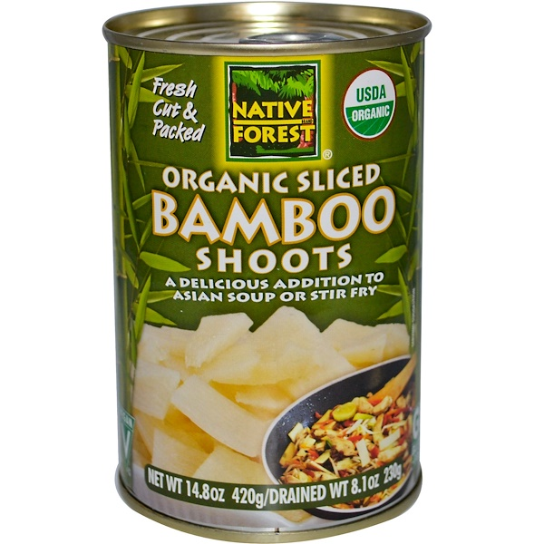 Native Forest, Organic Sliced Bamboo Shoots, 14.8 oz (420 g) (Discontinued Item)