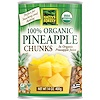 Native Forest, Edward & Sons, Native Forest, 100% Organic Pineapple Chunks, 14 oz (400 g)
