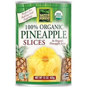Нативе форест, Edward & Sons, Native Forest, 100% Organic Pineapple Slices, 15 oz (425 g) отзывы