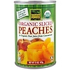Native Forest, Organic Sliced Peaches in Organic Apple Juice from Concentrate, 15 oz (425 g)