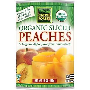 Нативе форест, Edward & Sons, Native Forest, Organic Sliced Peaches, 15 oz (425 g) отзывы