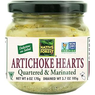 Native Forest, Artichoke Hearts, Quartered & Marinated, 6 oz (170 g)