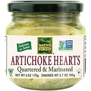 Нативе форест, Edward & Sons, Native Forest, Artichoke Hearts, Quartered & Marinated, 6 oz (170 g) отзывы покупателей