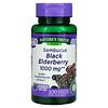 Nature's Truth, Sambucus Black Elderberry, 1,000 mg, 100 Quick Release Capsules