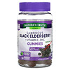 Nature's Truth, Sambucus Black Elderberry Plus Vitamin C & Zinc, Natural Berry, 50 Vegan Gummies