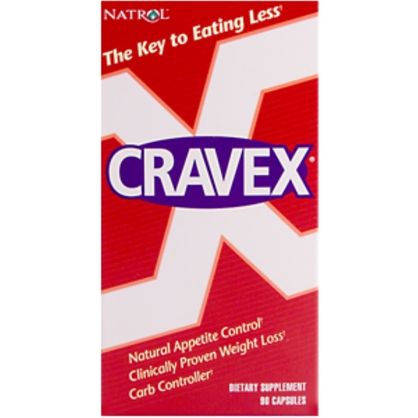 Natrol, Cravex, 90 Capsules (Discontinued Item)
