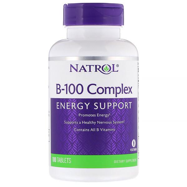 B-100 Complex, 100 Tablets