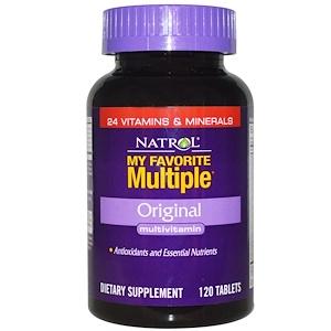 Нэтрол, My Favorite Multiple, Original Multivitamin, 120 Tablets отзывы