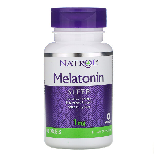 Melatonin, 1 mg, 90 Tablets