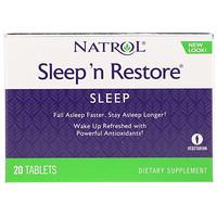 Sleep 'n Restore, 20таблеток - фото