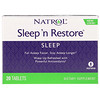 Natrol, Sleep 'n Restore, 20 Tablets